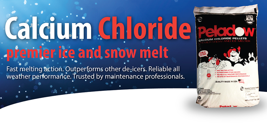 calcium chloride: ice and snow melt