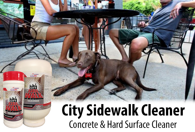 city sidewalk cleaner