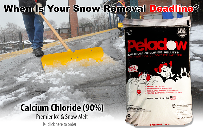 calcium chloride snow melt