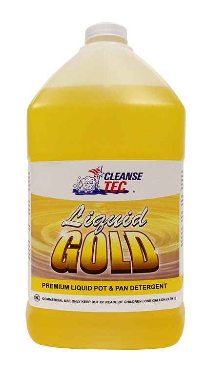 Liquid Gold Cleanse Tec Industrial Cleaning Supplies